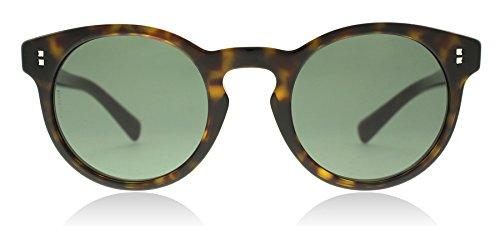 Valentino VA4009 500271 Havana VA4009 Round Sunglasses Lens Category 3 Size - Sunglasses Valentino Women's Round