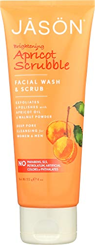 - (NOT A CASE) Brightening Apricot Scrubble Facial Wash & Scrub