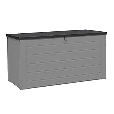 Plastic Outdoor Storage Box Seat 680L