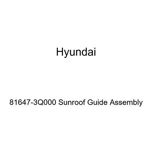 Genuine Hyundai 81647-3Q000 Sunroof Guide Assembly