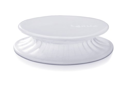 Lekue 8.6-Inch Elastic Stretch Top, Clear