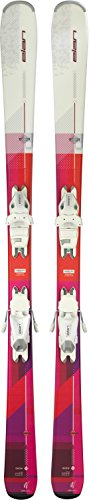 Elan Snow Womens Skis with EL 7.5 Bindings 2018 - 158cm (Skis Downhill Womens)