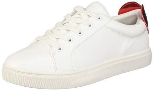 new style ae0e2 8c5cd Betsey Johnson Women s Tilly Sneaker, White, ...