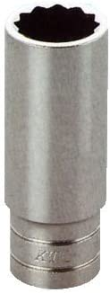 京都機械工具(KTC) 6.3sq.ディープソケット(六角) B2L-17/32