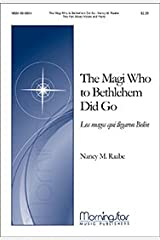 The Magi Who to Bethlehem Did Go (Los magos que llegaron Bel&#0233n) - Piano Sheet Music Sheet music