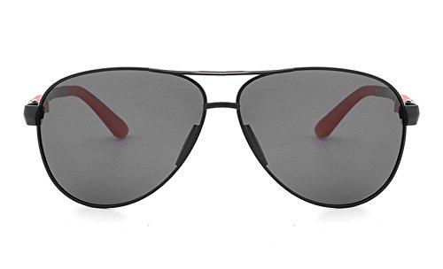 Gray Gafas Marca Sol UV400 para Piloto Sol Viajes gray Hombres de De Black Gafas Gafas Conductores Ying de Polarizadas Black Gafas Color Gafas 2018NEW Sol vBE7p