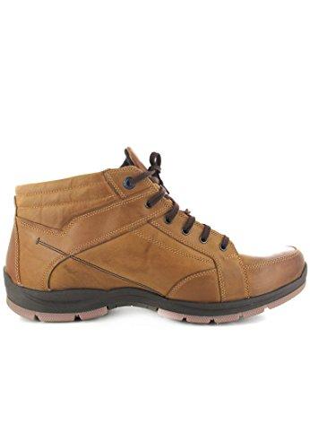 FRETZ bottes homme sprinter-homme-marron-chaussures en matelas grande taille