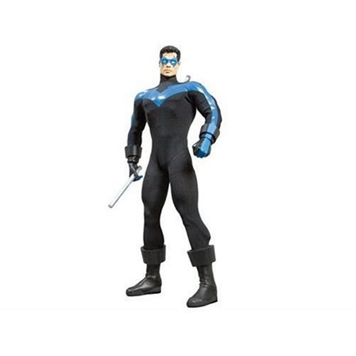 Deluxe Collectors Batman Costumes (Nightwing 13-Inch Deluxe Collector Figure by Batman)
