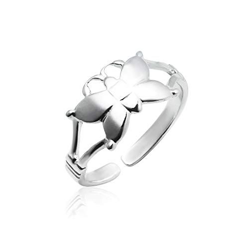 Big Apple Hoops - Genuine 925 Sterling Silver ''Basic and Simple'' Open Knuckle/Toe Ring for Women | All Day Comfort with 14 Unique Styles