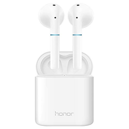 Huawei Honor Flypods Earphone TWS Bluetooth 5.0 Headphones Wireless Charging with Dual Mic - white