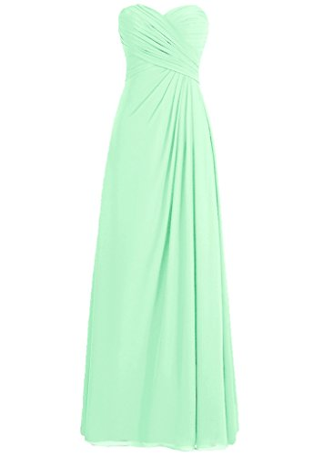 H.S.D Pregnant Baggy Pleated Long Maternity Dress Mint Green