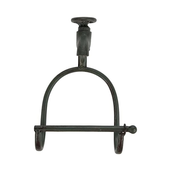 Lily's Home Vintage Rustic Wall Mount Toilet Paper Roll Holder, Country Design Crafted to Look Like Spigot Faucet and is… 5
