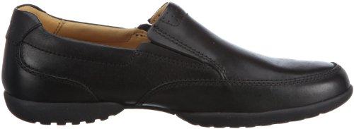 Clarks Recline Free 20348487 - Zapatos de cuero para hombre Negro
