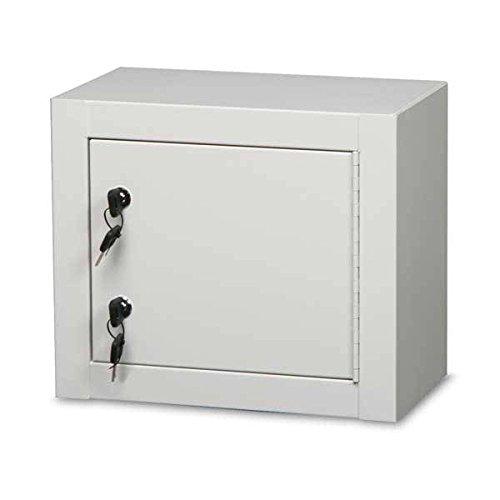 Single Door / Double Lock Narcotics Cabinet Baked Enamel 14