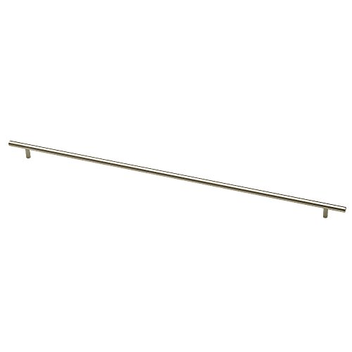 Liberty P02124-SS-C Bauhaus 25-3/16 in. (640mm) Kitchen Cabinet Hardware Drawer Handle Bar Pull, Stainless - Bar Bauhaus Pull