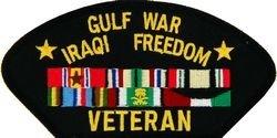 Gulf War - Iraq Veteran Patch -