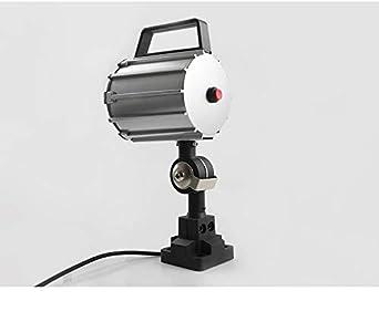 CNC Milling Machine Industrial Machine Light,12W 110V-220V Adjustable Aluminum Alloy LED Work Light IP68 for Lathe Short Arm /… Drilling Machine 12