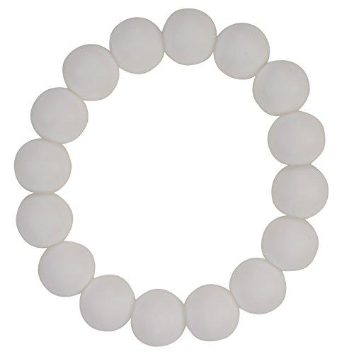 Funky Silicone Teething Bracelet Wear
