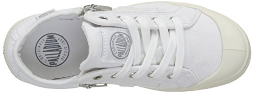 Palladium Palaru Z K - Zapatillas de Deporte Unisex Niños Blanco - Blanc (C23 White/White/Monument)