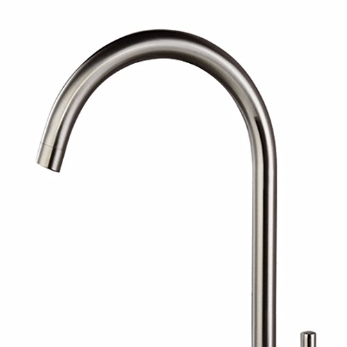 OLQMY-Kitchen basin tap wrench single hole lavatory faucet, brushed basin mixer new