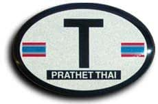 Thailand - Oval Decal