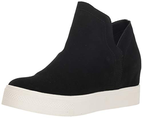 Sneakers Suede Athletic - Steve Madden Women's Wrangle Black Suede Athletic 9 US