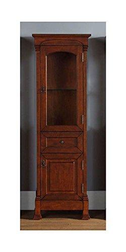 James Martin Furniture Linen Cabinet in Warm Cherry Finish 601002 from James Martin Furniture