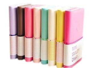 li Unmio Portable del diario notebook notebook (colore casuale) medium Random Color Li_unmio
