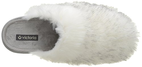 Pelo Blanc Chinela Victoria Femme Chaussons Blanco Largo Mules 1Uv5qwA5