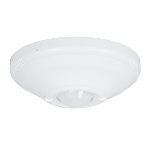 Maxxima Ceiling Mount 360 Degree PIR Occupancy Sensor, Hard-Wired Motion Sensor Ceiling Motion Detector