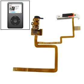- Replacement Headphone Audio Jack Flex Cable for iPod Classic 80GB 120GB
