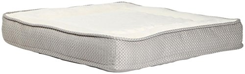 31TBb ZKbKL - Best Friends by Sheri Square Pet Bed In Renin - Graphite - Small