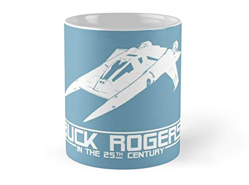 - Army Mug Buck Rogers In The 25th Century Spacecraft Sci Fi Tshirt Mug - 11oz Mug - Features wraparound prints - Made from Ceramic - Best gift for family friends