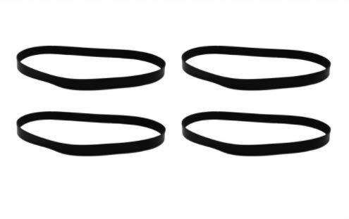 4 Replacements Durable Eureka 4800 SmartVac Series R Belts Part # 61110 & 61110B