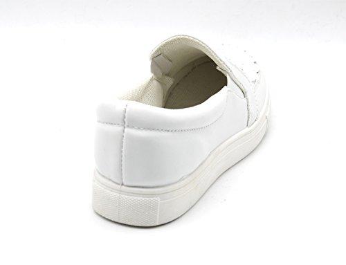 Oh Shop Caño Blanco Mujer Botas De My Bajo xqxZCaf