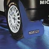 Negro Rally Motorsport mudflaps 50cm X 30cm 3mm X MSA 4-Con Accesorios