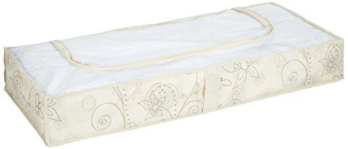 Wenko 64002100 Unterbettkommode Butterfly, Polypropylen Faserstoff, 103 x 16 x 45 cm, beige
