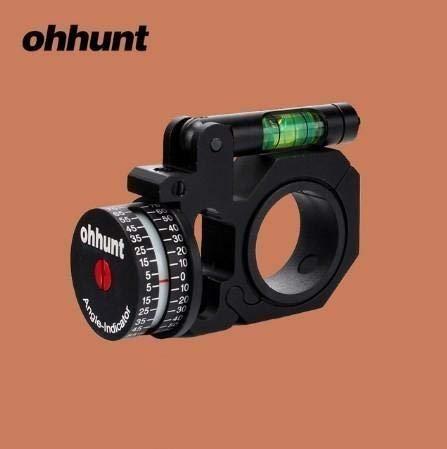 エアガン狙撃用水平器サバイバルゲームミリタリー角度計測器25.4 30mmスコープマウント B07QJBLL7L