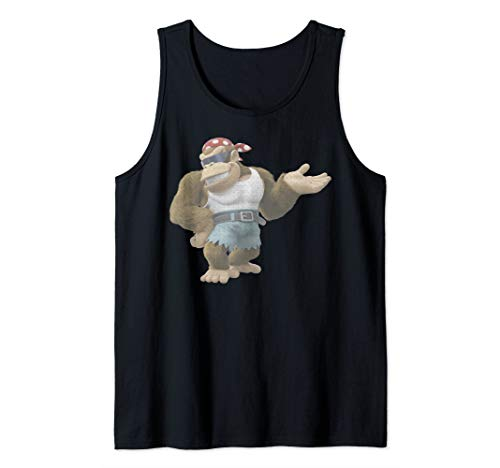 Nintendo Donkey Kong Country Funky Kong Simple Tank Top (Donkey Kong Country 2 Rom Snes Espanol)