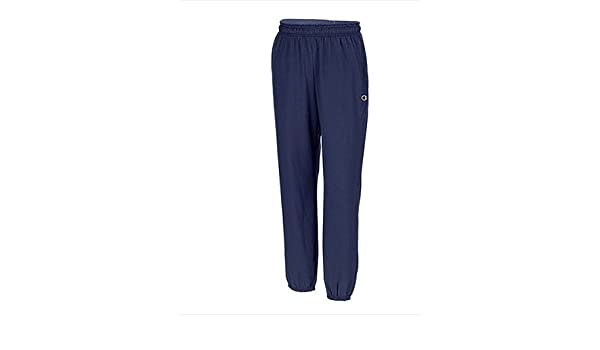 59223d3b1069 Amazon.com  Hanes P7310 Mens Closed Bottom Jersey Pants  44  Navy Blue -  Medium  Health   Personal Care