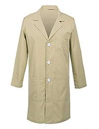TAILOR'S Men's Lab Coat Laboratory Doctor Workwear