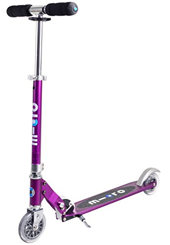 Micro Sprite Kick Scooter - Metallic Purple…