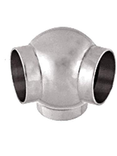 Ball 135 Degree Elbow - C.R. LAURENCE HR20BPPS CRL Polished Stainless 3-5/16