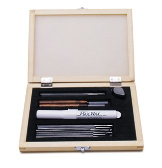 Deluxe Wax Carving Set, 13 Piece Kit | CVR-105.00 by EuroTool (Image #1)