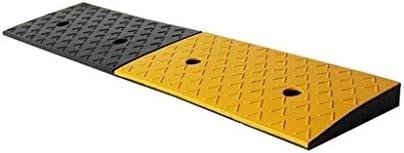 縁石をインストールするには高速道路のスロープ、ゴムウェアラブル車両スロープ事務所耐久性に優れたサービス傾斜路屋外簡単には98 * 22 * 4CMのランプ 段差プレート・スロープ (Size : 98*22*4CM)