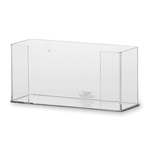 Single Glove Box Dispenser Holder, Clear Acrylic