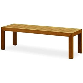 Atlanta Teak Furniture   Teak Backless Bench   5 Feet