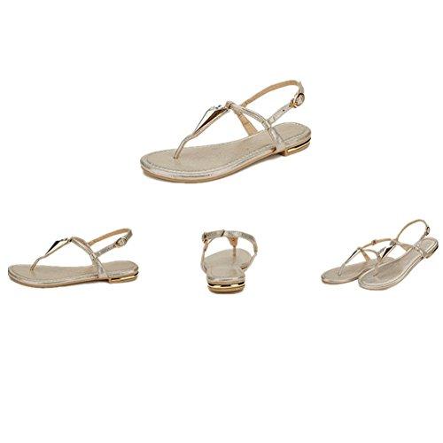 de las mujeres planas deportivo playa sandalia sandalias de los zapatos atléticos casuales , 12 , 38