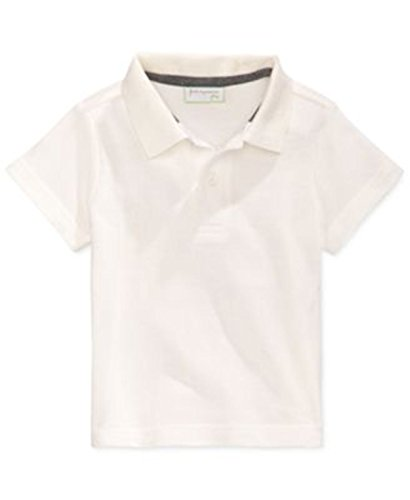 First Impressions Macy's Baby Boys' - Angel White - Polo - Short Sleeve (Macys Polo Shirts)