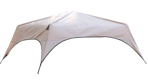Coleman 8-Person Instant Tent Rainfly Accessory,Brown/Black by Coleman